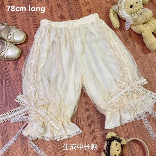 Summer Lace Chiffon Lolita Bloomer -Ready Made