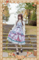 Bamboo Taking~ Classic Lolita Jumper+Headbow