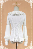 Neverland Lolita *** Sweet Tea Pastry*** Long Sleeves Lolita Blouse - 5 Colors Available