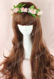 Daily Lolita Pretty Natural Mixed Brown 70cm Base 2 Removable Ponytails Wig