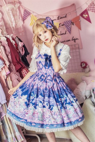 The Easter Bunny- Lolita Jumper Dress