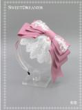 Cutie Creator  - Maiden's Prayer- Bow Lace Lolita Headbow