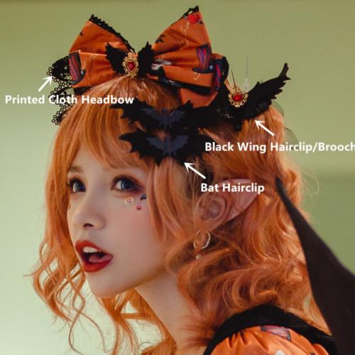 Miss Point ~Clown Daunting Night Lolita Accessaries