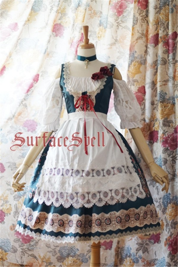 Surface spell ~AlpenRose~ Gothic Ethnic Lolita Accessaries