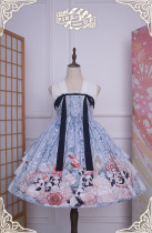 Panda ~Classic Qi Lolita JSK Dress Version II -IN Stock