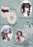 Singing of Deer Series~ Square Collar Lolita Accessories -Ready Made