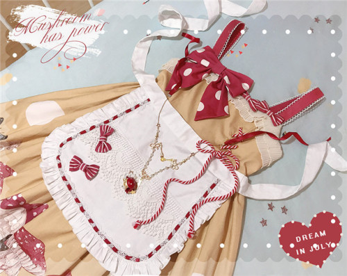 Dream In July ~Mushroon Has Power~ Sweet Lolita Accessories