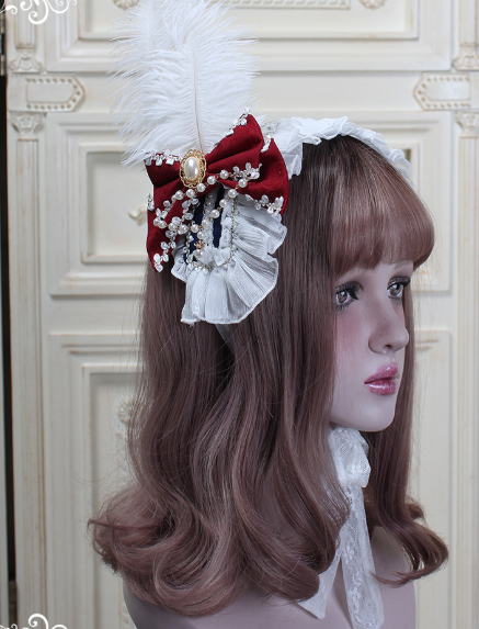 Moira~ Lolita Headband -Ready Made