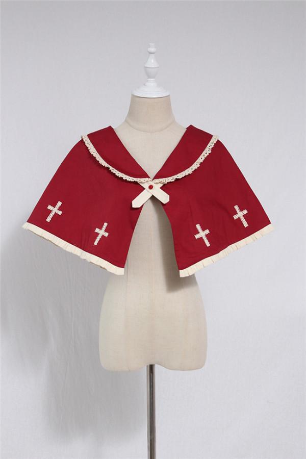 The Cross Choir~ Gothic Lolita Cape -Ready Made