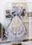 Elpress L Diamond Glitter Lolita Accessaries -Ready Made