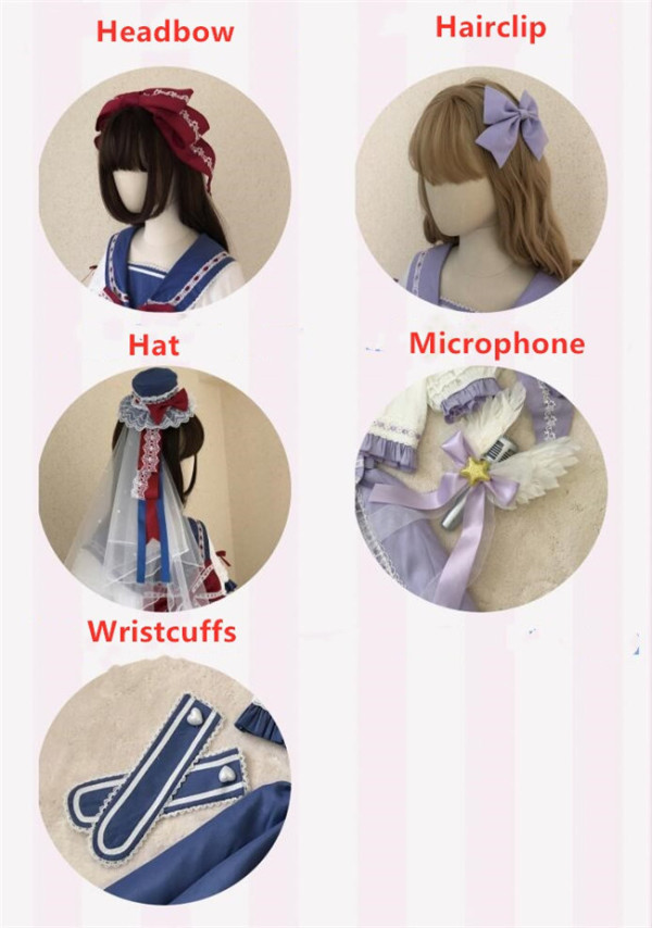 Rising Star ~Sweet Lolita Accessories - Ready Made