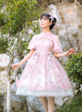 Epiphyllum Jellyfish Qi Lolita Dress Version II - Ready MADE