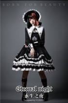 YUPBRO Lolita ~Eternal Night Gothic Lolita OP