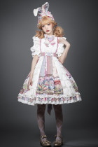 YUPBRO Lolita ~Alice Sweet Lolita OP -Ready Made