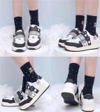 Sheep Puff ~Velcro Little Ears~ Sweet Sneaker -Pre-order Pink + Yellow + Blue  Size 38 - In Stock