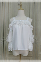 Little Dipper ~Sweet Lace Lolita Blouse -Pre-order