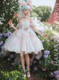 Long Ears & Sharp Ears Lolita ~Hananoko Runrun Lolita JSK -Ready Made