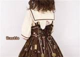 Vcastle ~Chocolate ~Sailor Style Sweet Lolita Blouse -Pre-order
