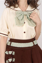Vcastle ~Chocolate ~Sailor Style Sweet Lolita Blouse -Pre-order