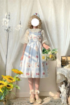 Alice Girl ~Sweet Cherry Lolita JSK -Pre-order