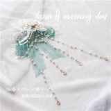 Bamboo Song ~Qi Lolita Accessaries -Ready Made