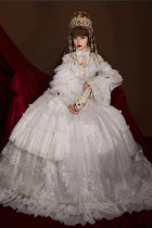 QuaintLass Lolita ~Lace Lolita Wedding Dresses -Pre-order