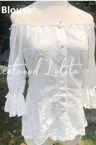 Secret Garden In Midsummer ~Lolita Blouse/Outer Yarn