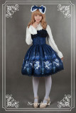 Neverland Lolita ~Chrono Guardian~ Normal Waist Lolita Jumper Dress