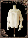Infanta ~Mechanical Puppet  Steampunk Lolita Blouse -Ready Made