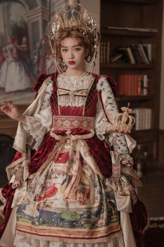 Yolanda Lolita ~Coronation Vintage Lolita OP/JSK/Skirt/Cape/Overskirt preorder