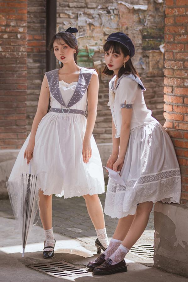 Miss Point ~Little Sea Snail Sweet Sailor Lolita JSK