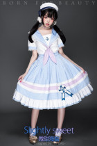 YUPBRO Lolita ~Slight Sweet Sailor Style Lolita OP -Pre-order