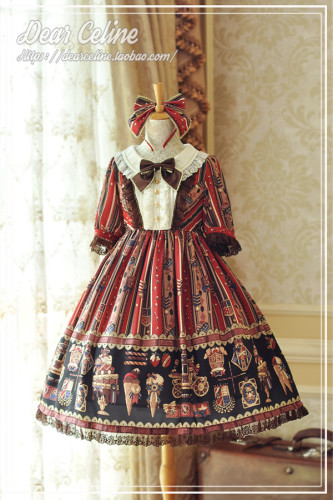 Dear Celine ~Royal Academy of Chocolate Lolita OP -Pre-order