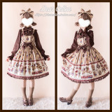 Dear Celine ~Royal Academy of Chocolate Lolita JSK -Pre-order