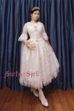 Surfacespell ~The Snow Queen~ Heavy Embroidery Lolita JSK -Pre-order
