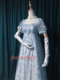 Surfacespell ~The Snow Queen~ Heavy Embroidery Lolita OP -Pre-order