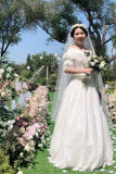 Surfacespell ~ The Portrait of A Lady Vintage Bridal Dress