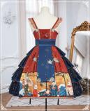 Ying Luo Fu Kimono Style Lolita JSK Fullset