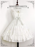 The Whisper of Stars~ Gold Stamping Constellation Lolita Normal JSK -Pre-order