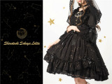 The Whisper of Stars~ Gold Stamping Constellation Lolita Normal JSK -Ready Made