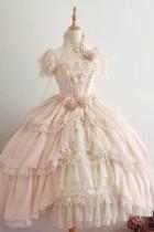 Henrietta Luxury Fairy Lolita OP + Wings -Pre-order