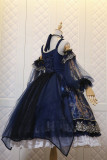 Nine Ode ~Crown In the Deep Sea Elegant Lolita Accessories -Ready MADE