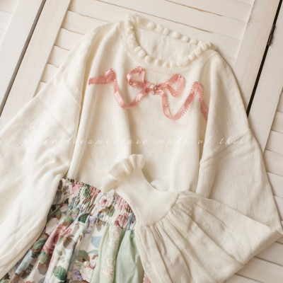 Cookies~ Long sleeve Knit Sweater