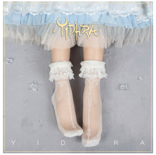 Yidhra Lolita ~The Tides Lolita Short Socks Summer Version