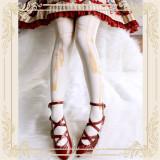 Ruby Rabbit~Rope 120D Velvet Tights