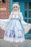 Snow Country Maiden Lolita Dress + Blouse Set
