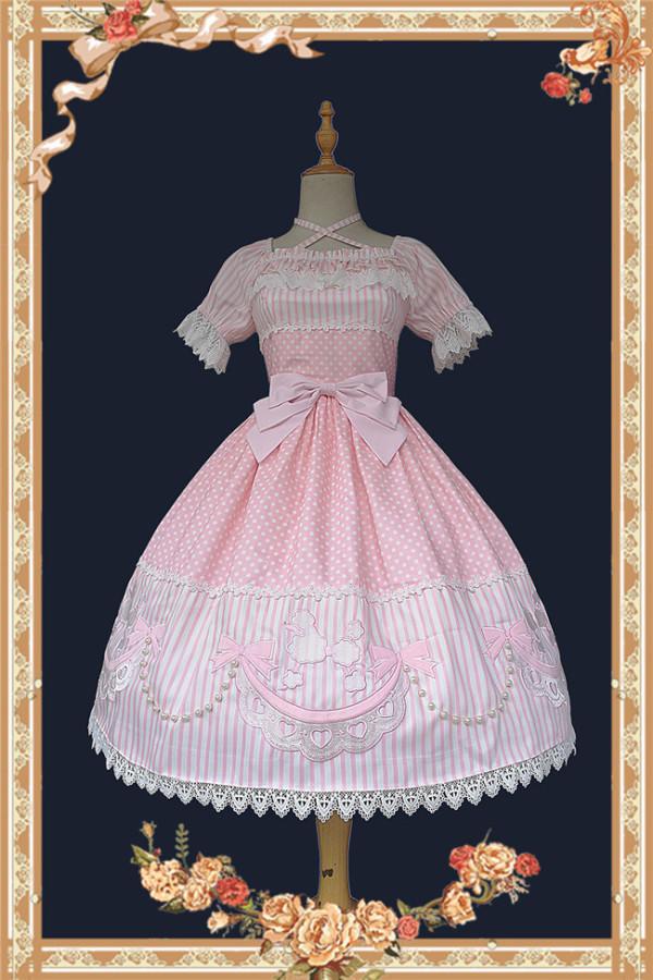 Infanta ~Poodle~ Embroider Lolita OP