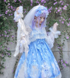 Lily-of-the-valley Story~ Sweet Lolita Jumper -Ready Made