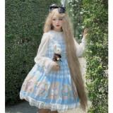 Sweet Lattice Alice Lolita Jumper -Ready Made