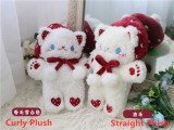 Morning Glory ~Sweet Lolita Bags -Pre-order Red Straight Plush - In Stock